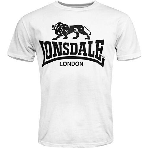 Lonsdale T-Shirt »LOGO«, weiß