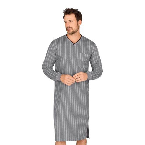 Trigema Nachthemd mit V-Ausschnitt