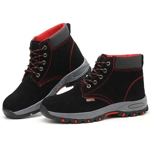 TOPMELON Arbeitsschuh High-Top-Schuhe, rutschfeste Funktion, Pannenschutz
