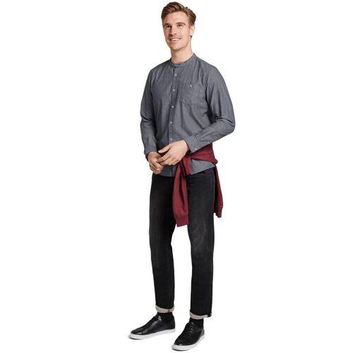 TOM TAILOR Langarmhemd mit modischer Kragenform