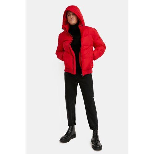 Finn Flare Daunenjacke im sportlichen Style, rot