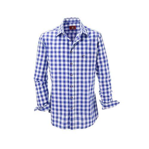 OS-Trachten Trachtenhemd, blau