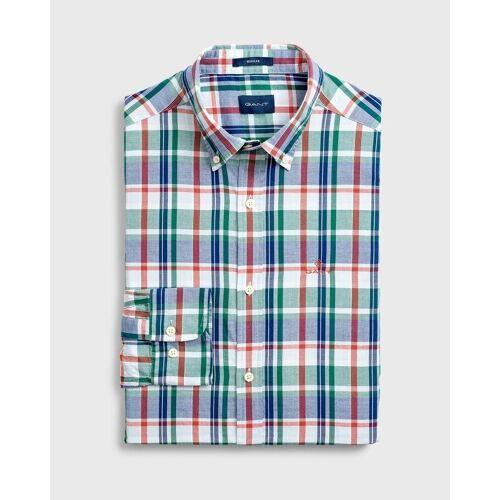 Gant T-Shirt »/ He.T-Shirt / D1. OXFORD PLAID REG BD«, 373 IVY GREEN