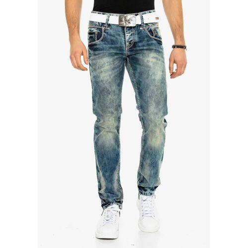 Cipo & Baxx Bequeme Jeans in bequemem Regular Fit-Schnitt