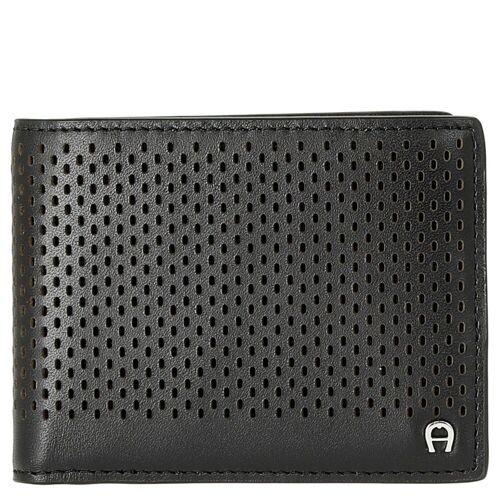 AIGNER Geldbörse »Basics Geldbörse 11 cm«, black