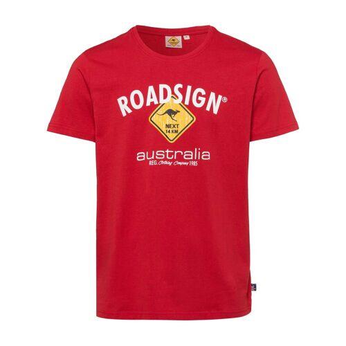 ROADSIGN australia T-Shirt »Roadsigner« mit Australien-Motiv, rot