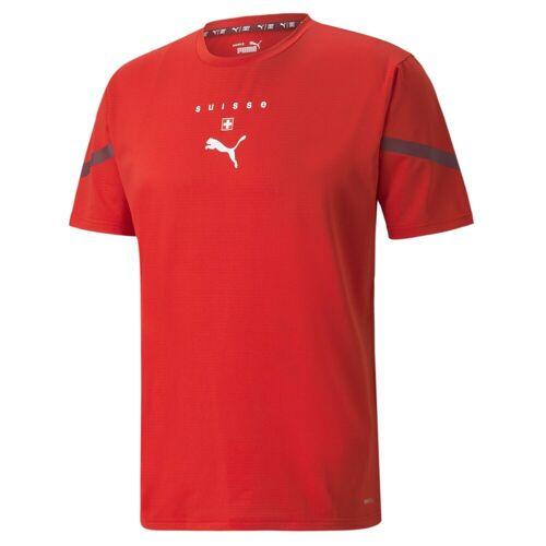 Puma Fußballtrikot »Prematch Trikot für Herren, Schweiz«