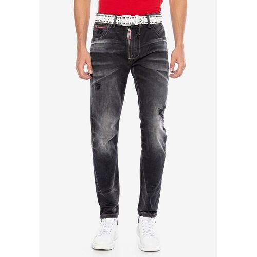 Cipo & Baxx Straight-Jeans im modischen Look