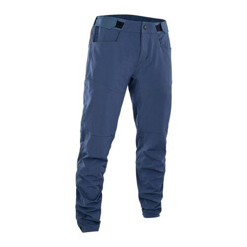 ION Fahrradhose »Fahrradhose Scrub AMP« (1-tlg), blau