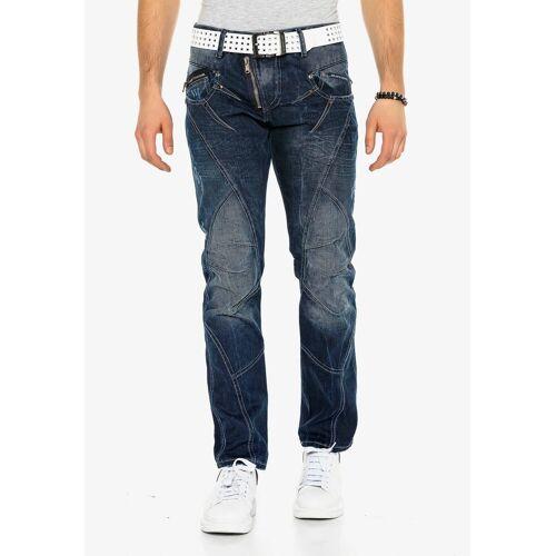 Cipo & Baxx Bequeme Jeans mit dicker naht