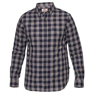 Fjällräven Hemd Övik Check Shirt, Dunkelblau kariert