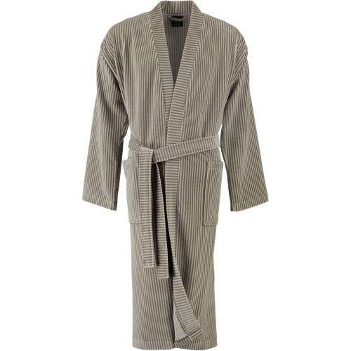 Cawö Bademantel, , Kimono Form, 33 beige