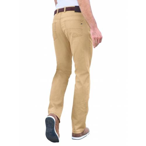 Brühl 5-Pocket-Hose, ocker