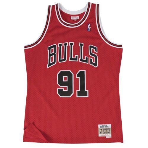 Mitchell & Ness Basketballtrikot »Swingman Jersey Chicago Bulls 199798 Dennis Rodman«