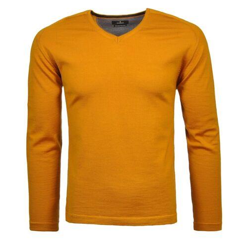 RAGMAN V-Ausschnitt-Pullover, gelb