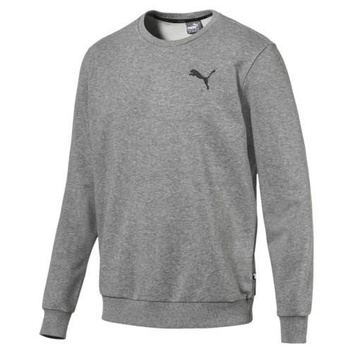 Puma Sweater »Essentials Herren Crew Sweatshirt«, mittelgrau
