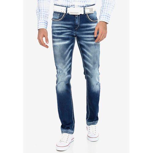 Cipo & Baxx Bequeme Jeans mit passendem Gürtel