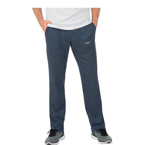 Trigema Hose DELUXE Baumwolle, jeans-melange