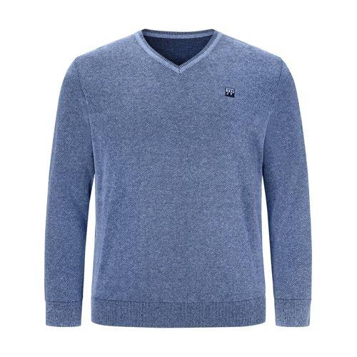 Jan Vanderstorm Strickpullover »KEIMO« bequemer Basic-Pullover