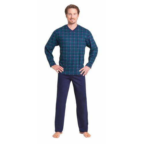 Hajo Pyjama Baumwolle