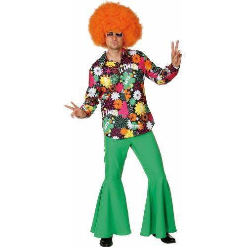 Orlob Kostüm »Peaceful Pete Hippie Hemd«