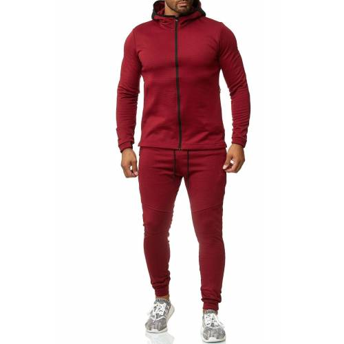Max Men Jogginganzug »2541«, Herren Jogginganzug SPEED, Rot
