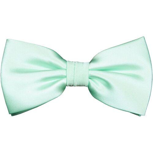 Paul Malone Fliege »Herren Schleife modern elegant uni satin einfarbig« Fliege-488 (mit Karton), mintgrün, mintgrün