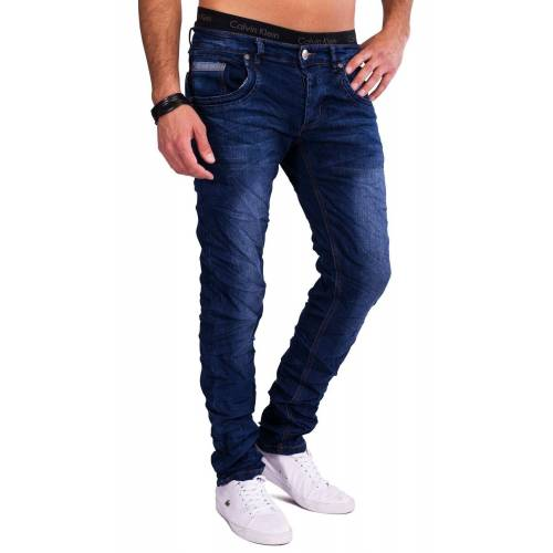 Egomaxx Slim-fit-Jeans »1556« Slim Fit Jeans Blaze