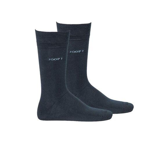 Joop! Kurzsocken »Herren Socken 2 Paar, Basic Soft Cotton Sock«, Marine