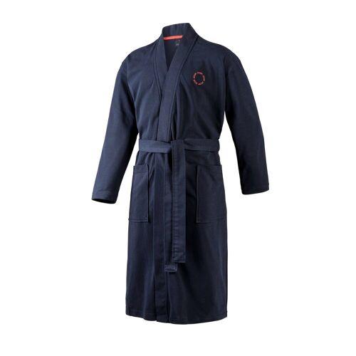 Joop! Bademantel »Herren Bademantel - Kimono, Logo, Baumwolle«, , Blau