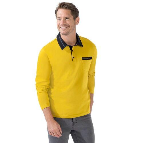 Catamaran Poloshirt, gelb