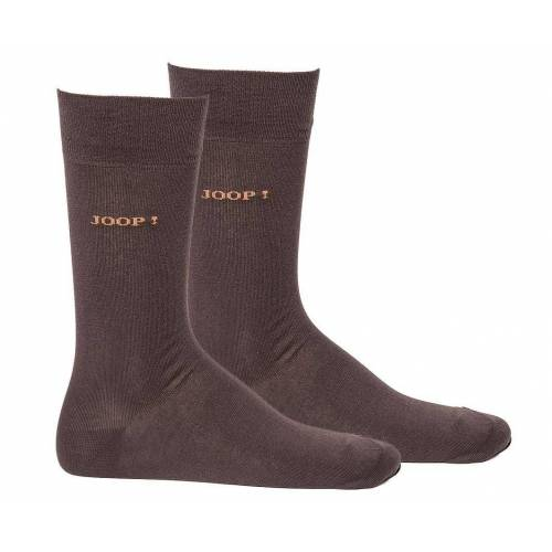 Joop! Kurzsocken »Herren Socken 2 Paar, Basic Soft Cotton Sock«, Mocca
