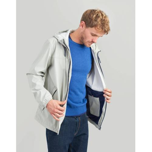 Tom Joule Regenjacke im klassischen Design »Portwell«, Soft Grey