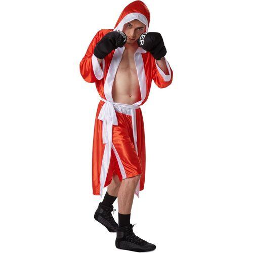 tectake Kostüm »Herrenkostüm Boxer«, rot/weiß