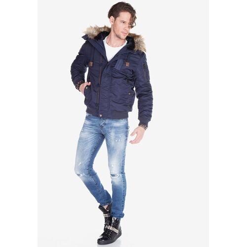 Cipo & Baxx Bequeme Jeans mit tollen Used-Elementen