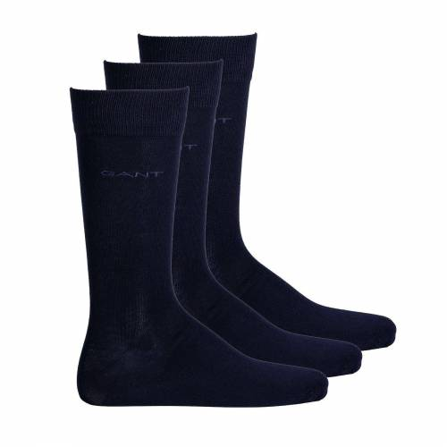 Gant Kurzsocken »Herren Socken, 3er Pack - Soft Cotton Socks,«, Blau