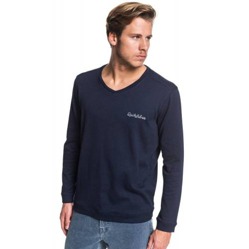 Quiksilver Sweatshirt »Hall Aflame«, blau