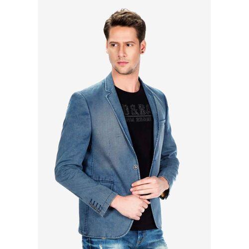 Cipo & Baxx Sakko im lässigen Jeans-Style