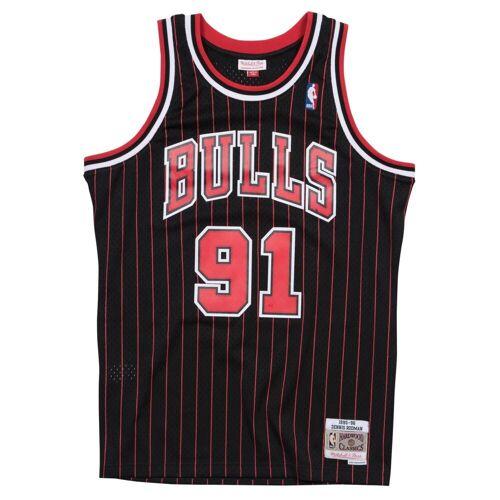 Mitchell & Ness Basketballtrikot »Swingman Jersey Chicago Bulls 199596 Dennis Rodman«