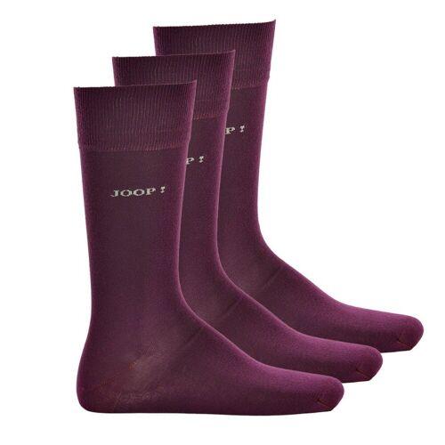 Joop! Kurzsocken »Herren Socken, 3er Pack - Kurzsocken, Baumwolle,«, Lila