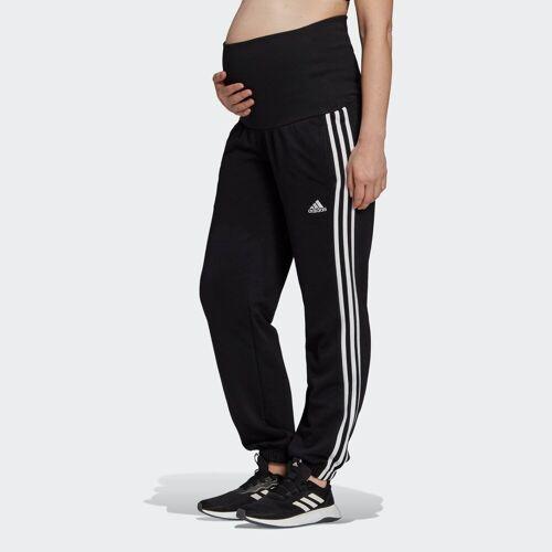 Adidas Performance Sporthose »Essentials Cotton 3-Streifen Hose – Umstandsmode«