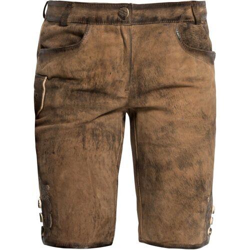 Luis Steindl Trachtenhose »Lederhose mit Stick«