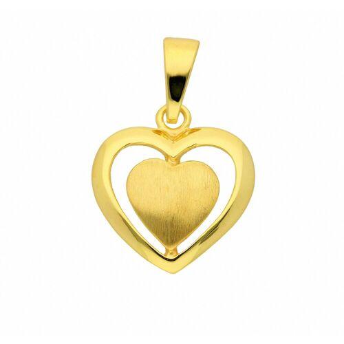 Adelia´s Anhänger Set »333 Gold Anhänger«, 333 Gold Goldschmuck für Damen
