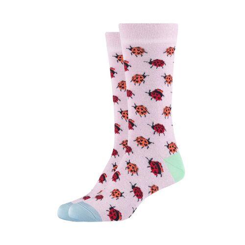 Fun Socks Socken (2-Paar) im 2er-Pack im Marienkäfer-Design