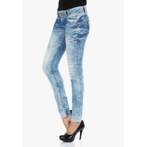 Cipo & Baxx Slim-fit-Jeans in trendiger Waschung