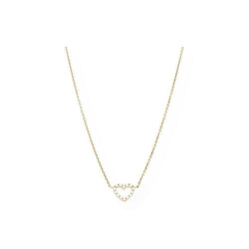 JuwelmaLux Goldkette »Kette Herz Gold«