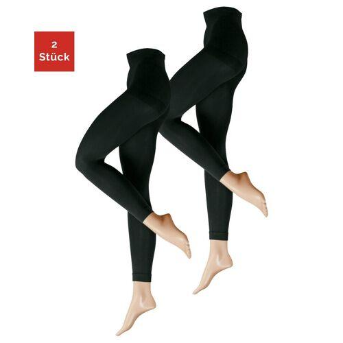 Nur Die Leggings »Ultra-Blickdicht, 80 Den« (2-tlg)