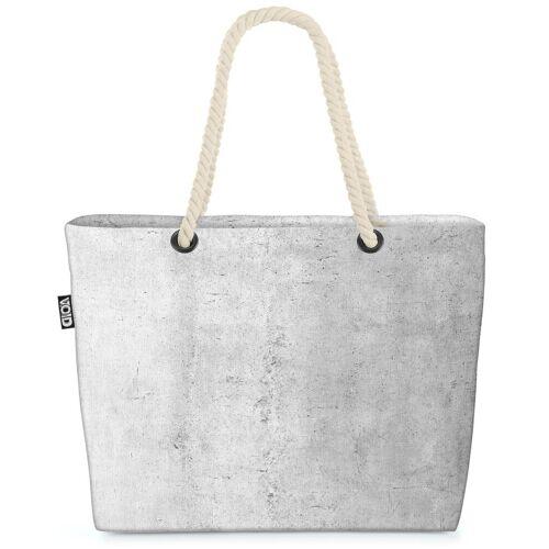VOID Strandtasche (1-tlg), Sichtbeton Beach Bag backstein stein Fassade Boden Bauhaus Baustoff beton porös