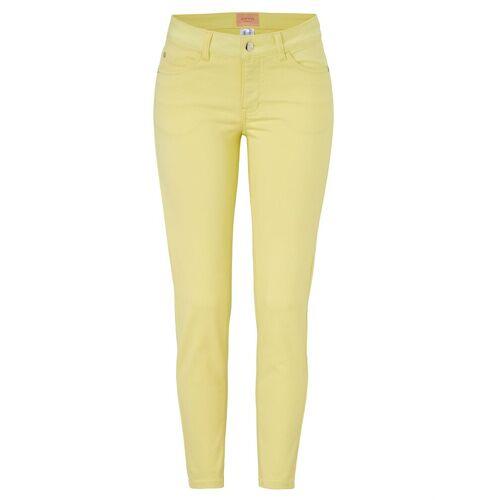 Sienna Slim-fit-Jeans, Zitronengelb