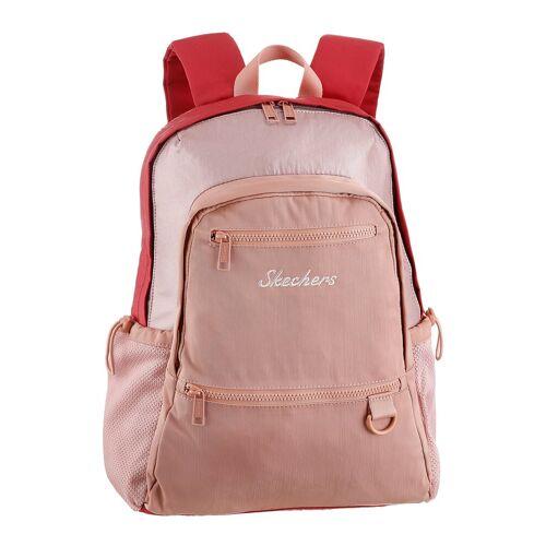 Skechers Cityrucksack, mit praktischer Einteilung, rosa